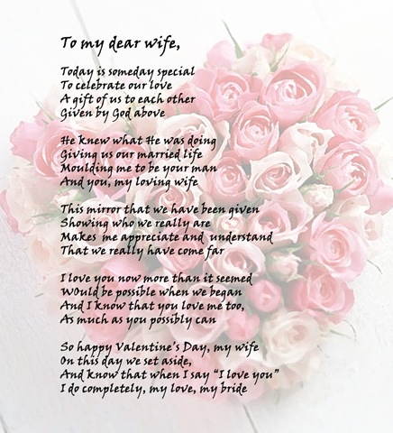 Happy Valentines Day my wife – Virtual Valentines Day Cards