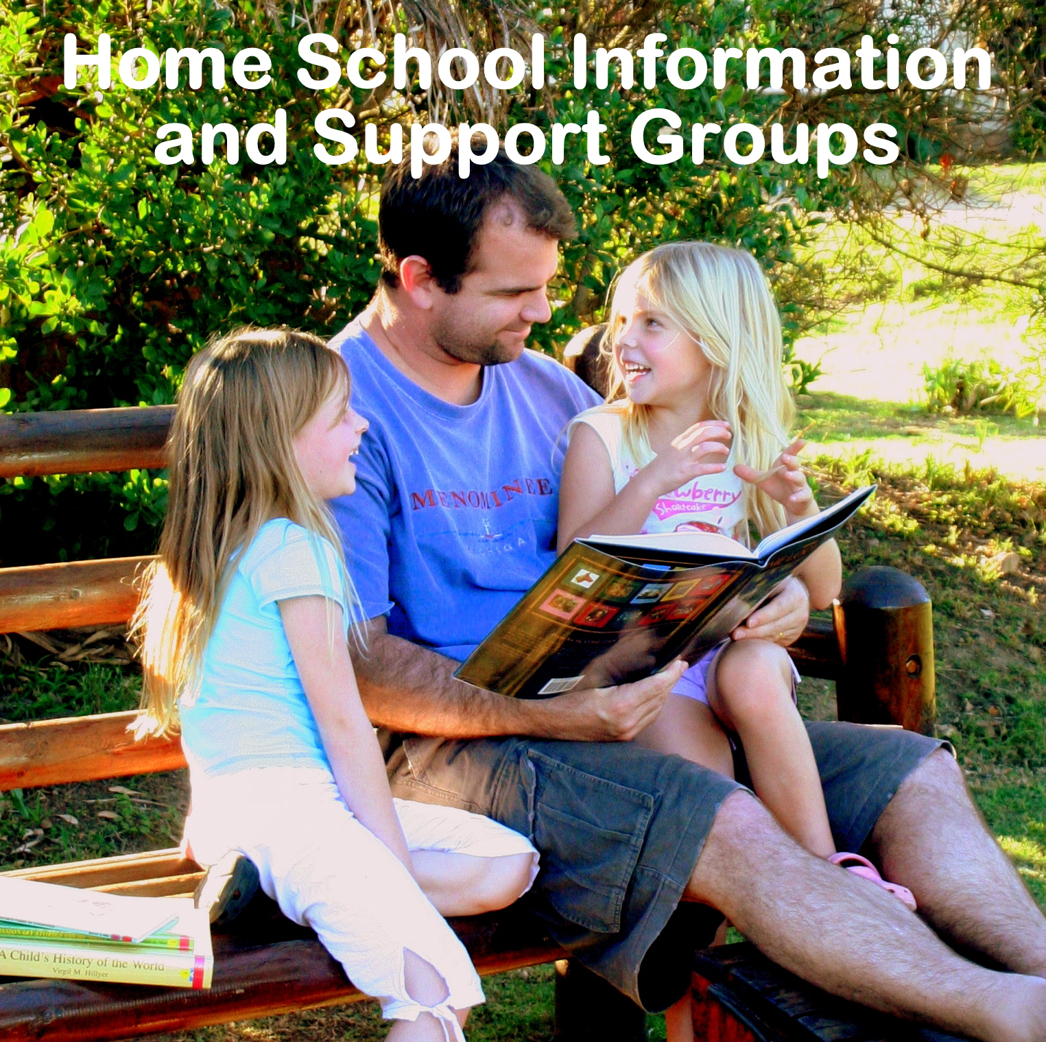 South African home school support groups and more: information page at Hayes Happenings.