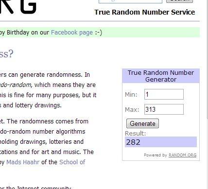 random winner generator